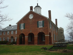 Historic Fairfax County Virginia Courthouse